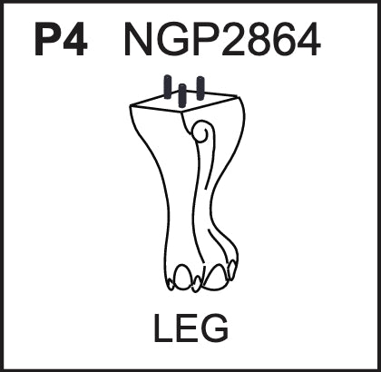 Replacement Part NGP2864 Leg