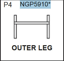 Replacement Part NGP5910 Outer Leg