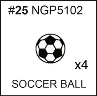 Replacement Part NGP5102 Soccer Ball 4-Pack