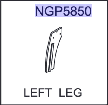 Replacement Part NGP5850 Left Leg
