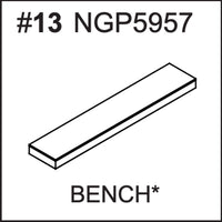 Replacement Part NGP5957 Bench