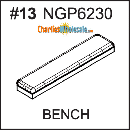 Replacement Part NGP6230 Bench