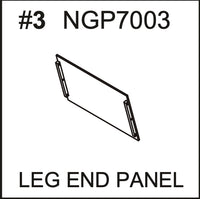 Replacement Part NGP7003 Leg End Panel