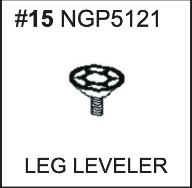 Replacement Part NGP5121 Leg Leveler