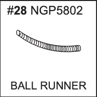 Replacement Part NGP5802 - Ball Runner