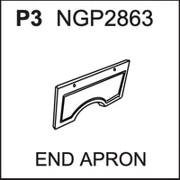 Replacement Part NGP2863 End Apron