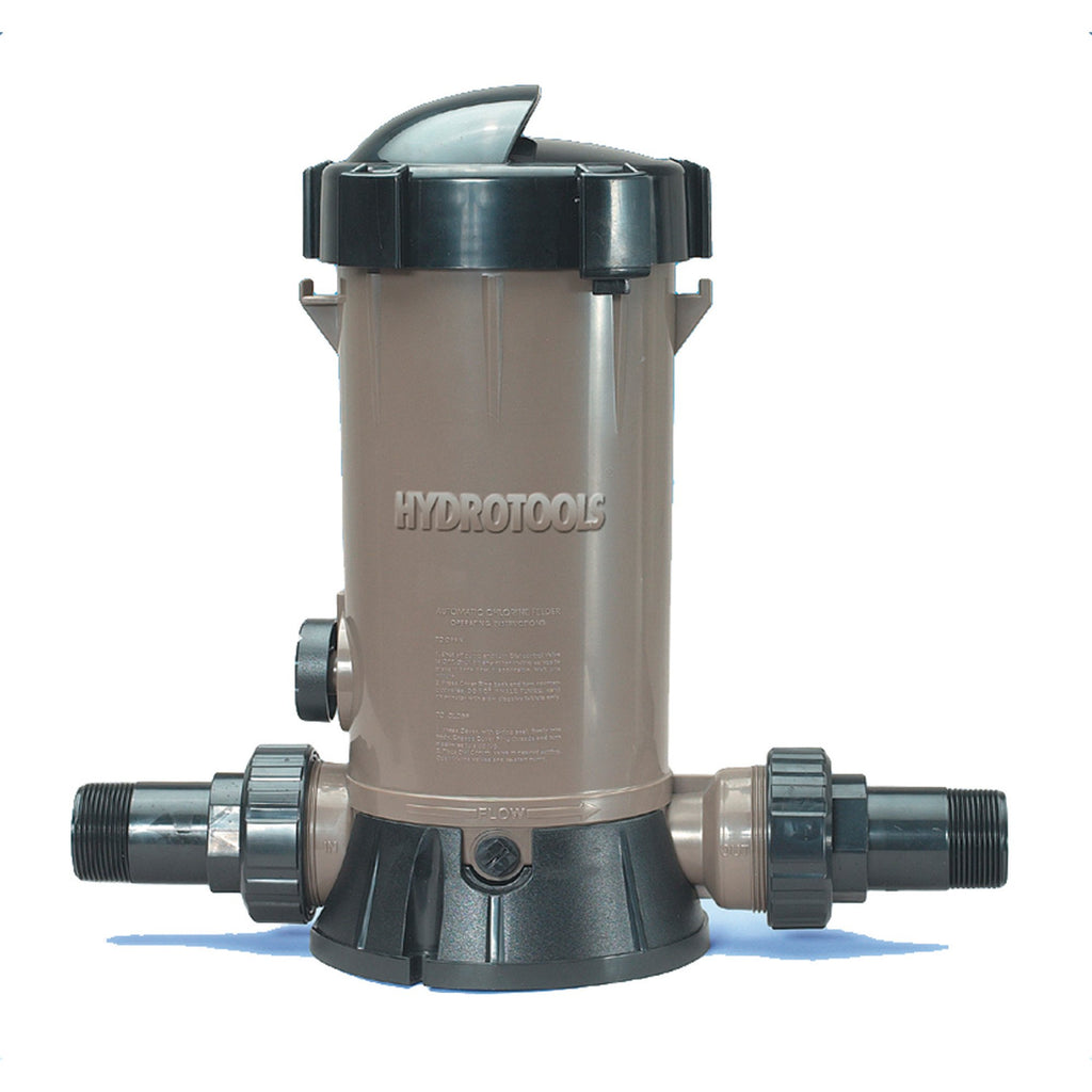 In-line Chlorine Feeder for Above Ground Pools
