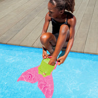 Pink Mermaid Swim Fin