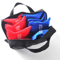 Regulation Cornhole Bag Set with Included Case – Red/Blue
