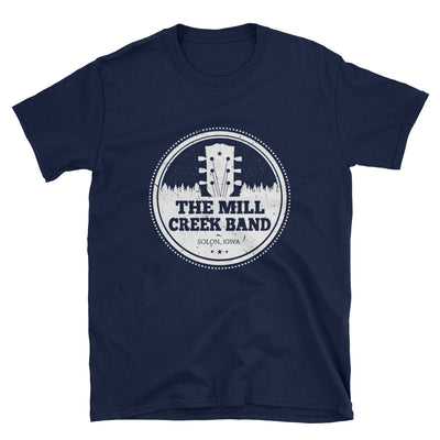 The Mill Creek Band Official T-Shirt - White Logo