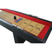 9' Foot Avenger Pub Style Shuffleboard Table Shuffle Alley with Pucks & Scorers