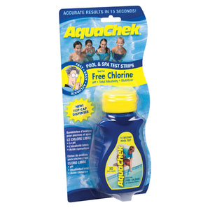 AquaChek Chlorine 4-Way Test Strips