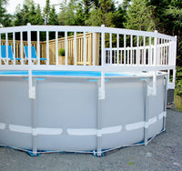 Above Ground Pool Fence Kit - Taupe