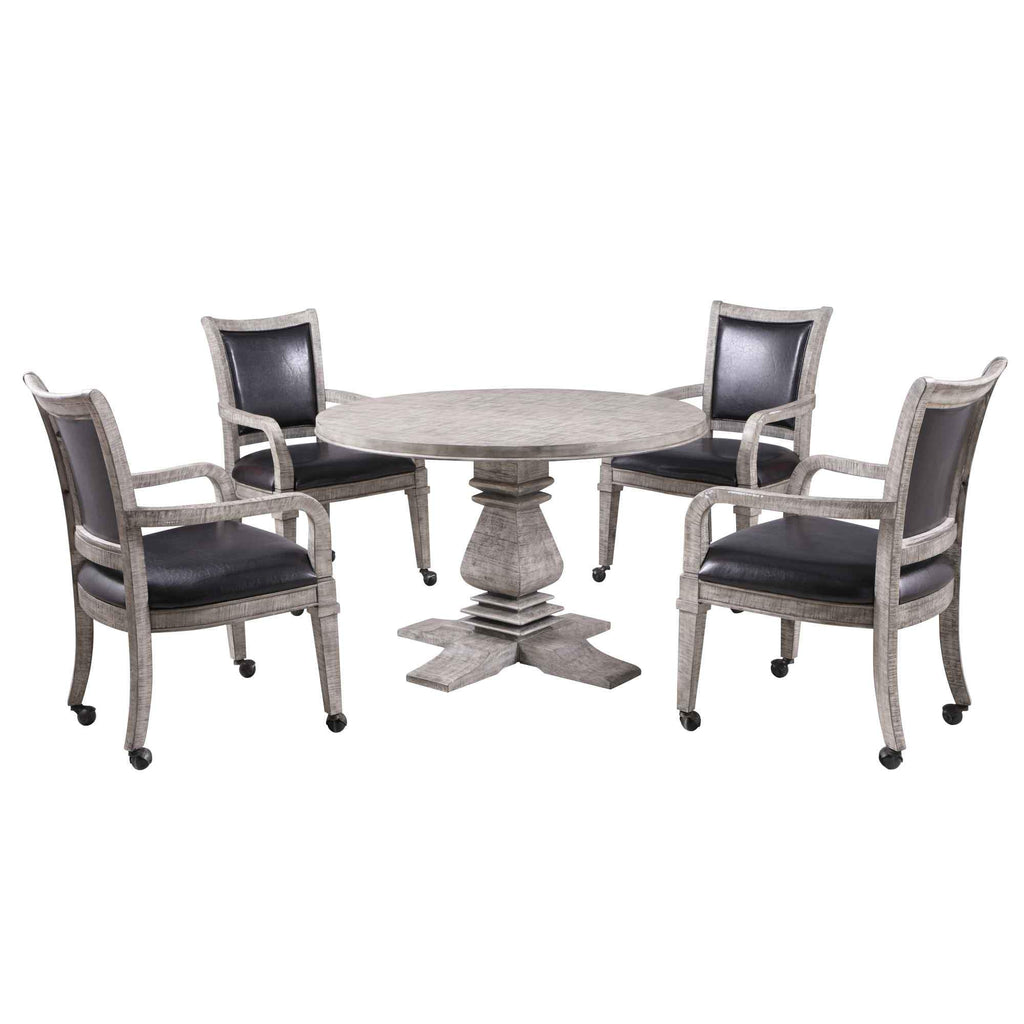 Montecito Dining and Poker Table Set