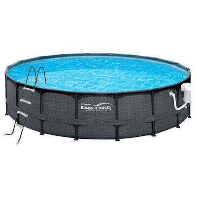 Wicker Metal Frame Pool Package