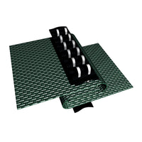 18-Year Mesh In-Ground Pool Safety Cover w/ Step Section - Green