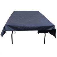 Black Polyester Table Tennis Cover