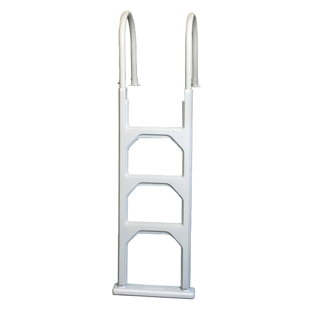 Aluminum/Resin In-Pool Ladder for Above Ground Pools