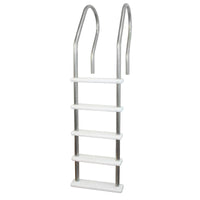Stainless Steel Reverse Bend In-Pool Ladder for Above Ground Pools
