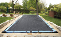 Rugged Mesh In-Ground Pool Winter Cover