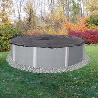 Rugged Mesh Above Ground Pool Winter Cover