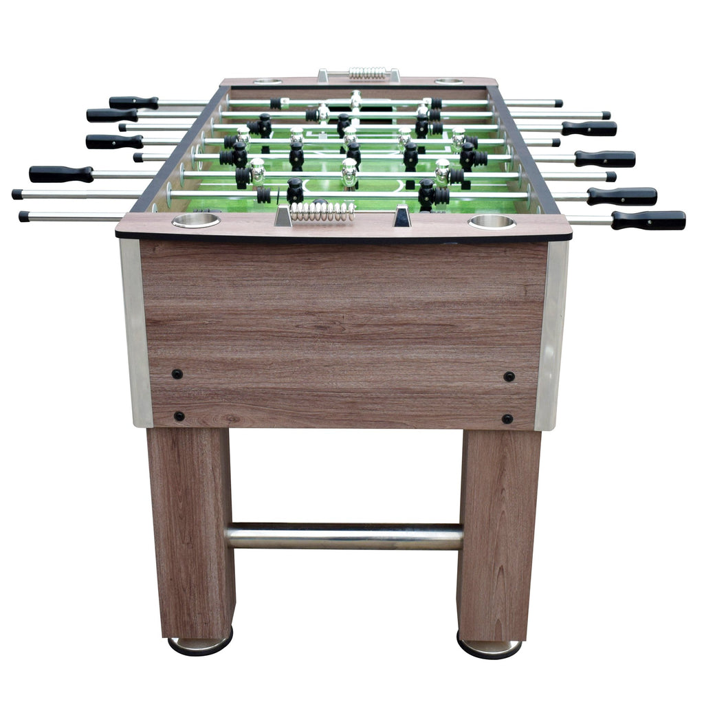 Lovely Driftwood 56 In Deluxe Regulation Size Foosball Table