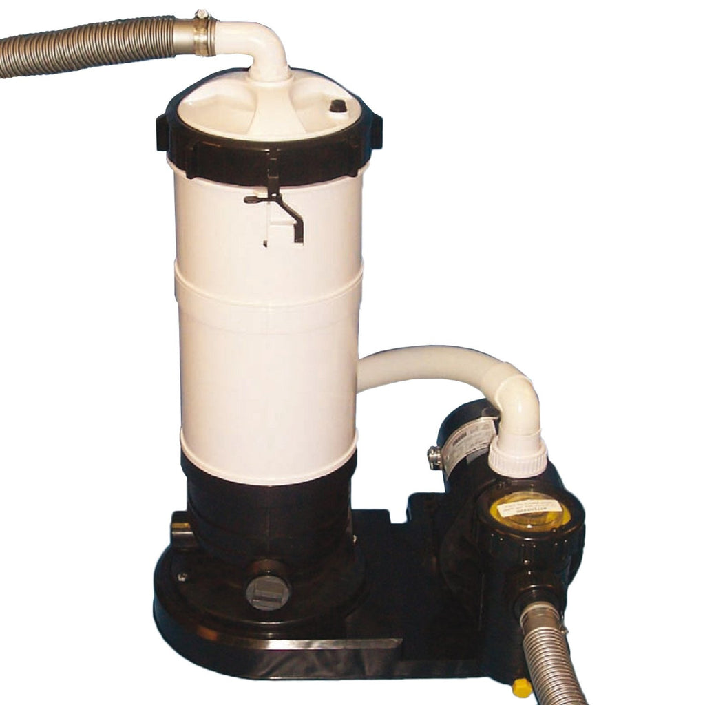 DE Filter System w/ 1.5 HP Pump for Above Ground Pools