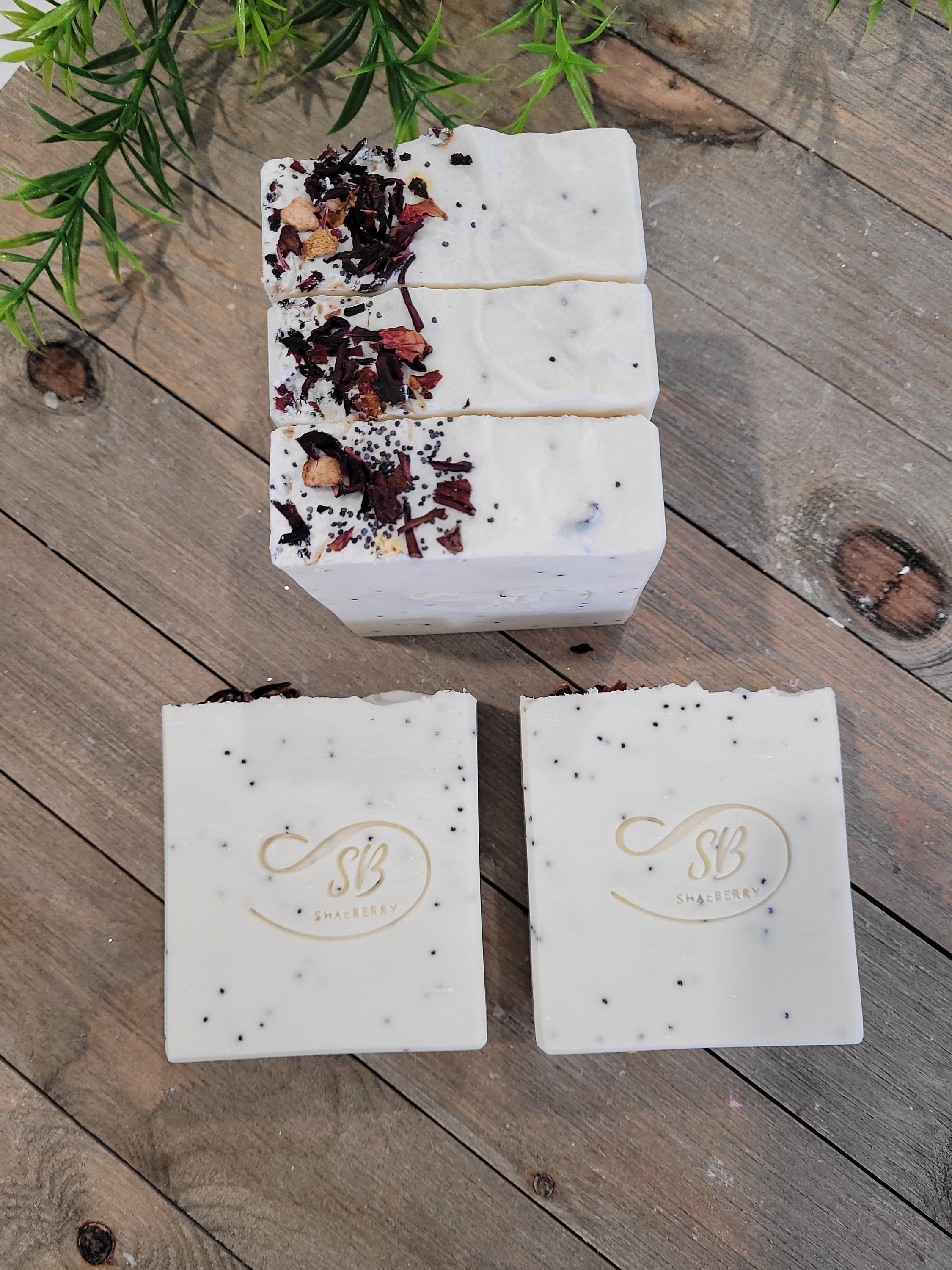Pack of 4  Vegan Soap