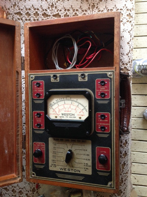 Multimeter - Weston Model 772, Type 6