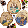 Custom Family Portrait Ornament