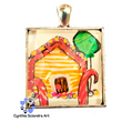 One of A Kind Hand Painted Gingerbread House