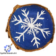 Hand Painted Snowflake