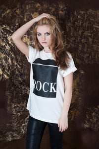 ROCK T-shirt - White