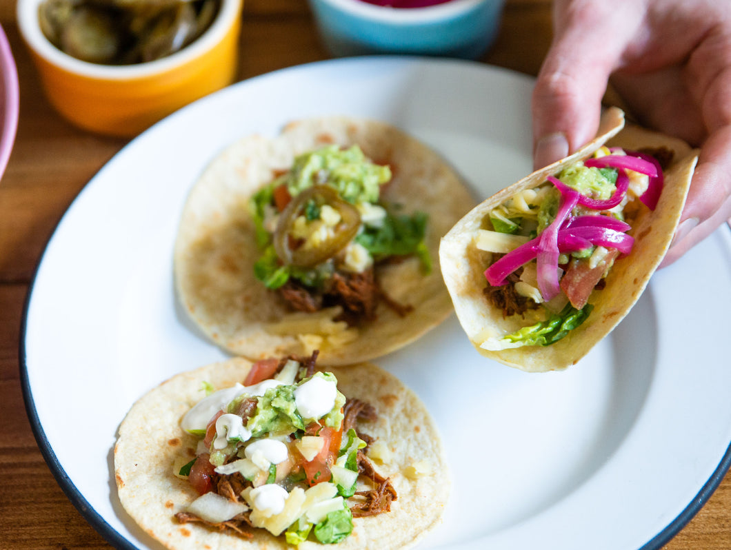 Slow Cooked Pork Taco Kit