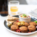 Smoked Chipotle Falafels for those that like a touch of heat!