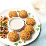 FALAFELS WITH TAHINI DIPPING SAUCE