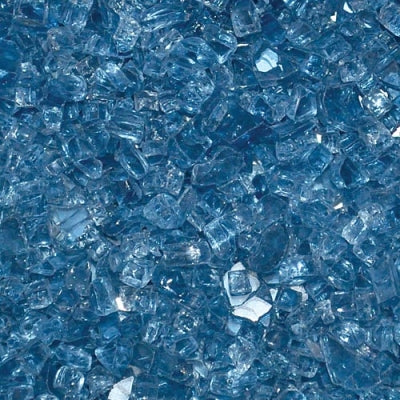 Fire Glass - Pacific Blue 10 lbs