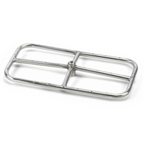 RECTANGULAR BURNER KITS - STAINLESS STEEL