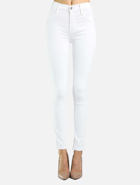 James Jeans High Class Skinny - Frost White