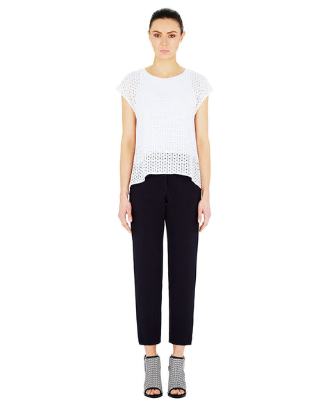 Panther Top - White Perforated