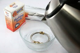 Cleaning Method of Sterling Silver Jewelry