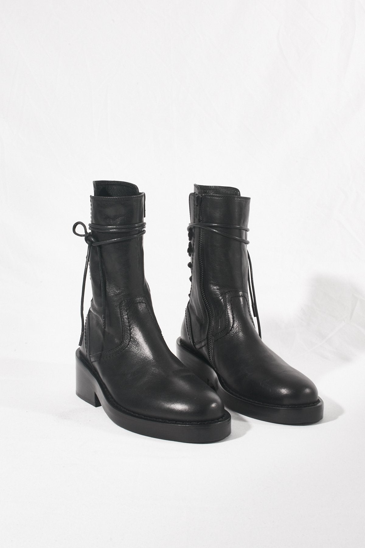 Back Lace-up Boots