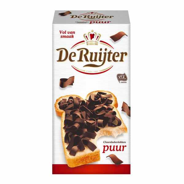 DeRuijter Milk Chocolate Flakes