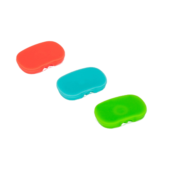 PAX 2/3 Multi-Color Flat Mouthpiece - 3 Pack