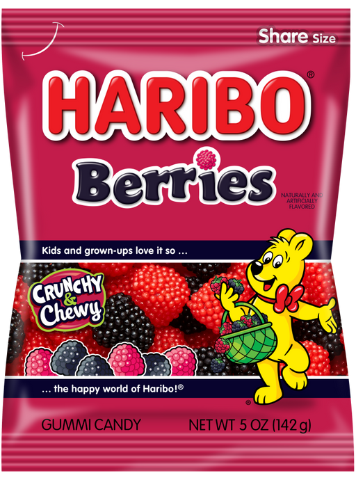 Haribo Berries Red and Black