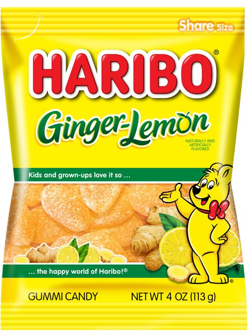 Haribo Ginger Lemon Gummy