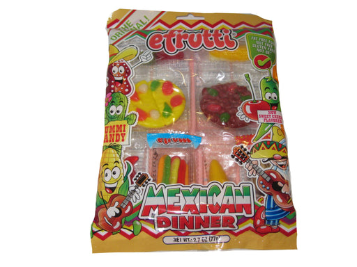 Efrutti Gummi Mexican Dinner Bag