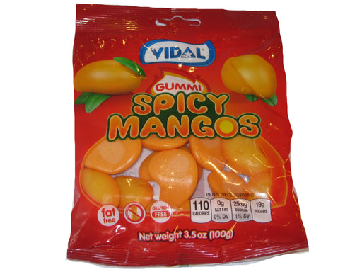Vidal Gummies Spicy mangos