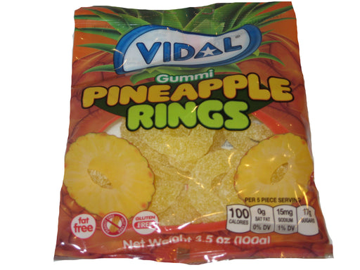 Vidal Gummies Pineapple Rings