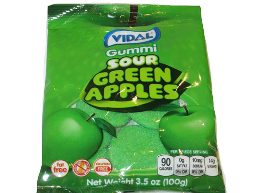 Vidal Gummies Sour Green Apples